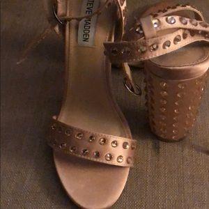 Steve Madden Shoes - Pink Steve Madden block heels
